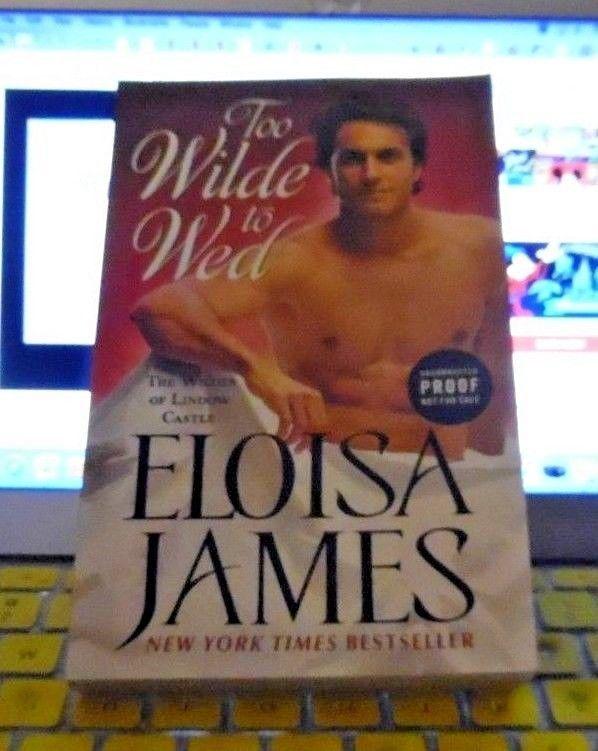 TOO WILDE TO WED - ELOISA JAMES ARC 06/18 MASS MARKET