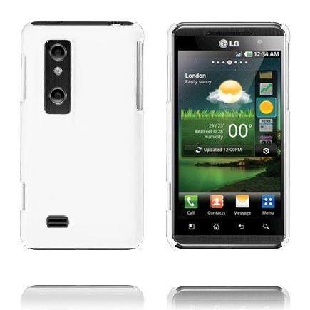 Hard Shell (Hvit) LG Optimus 3D Deksel
