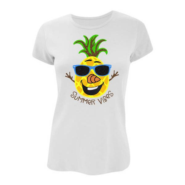 Pineapple Snowman Glitter Tank Tee Shirt Many Styles to Choose From... ($29) ❤ liked on Polyvore featuring tops, pink, women's clothing, white shirt, pink tank, summer tank tops, white tank top and pink tank top