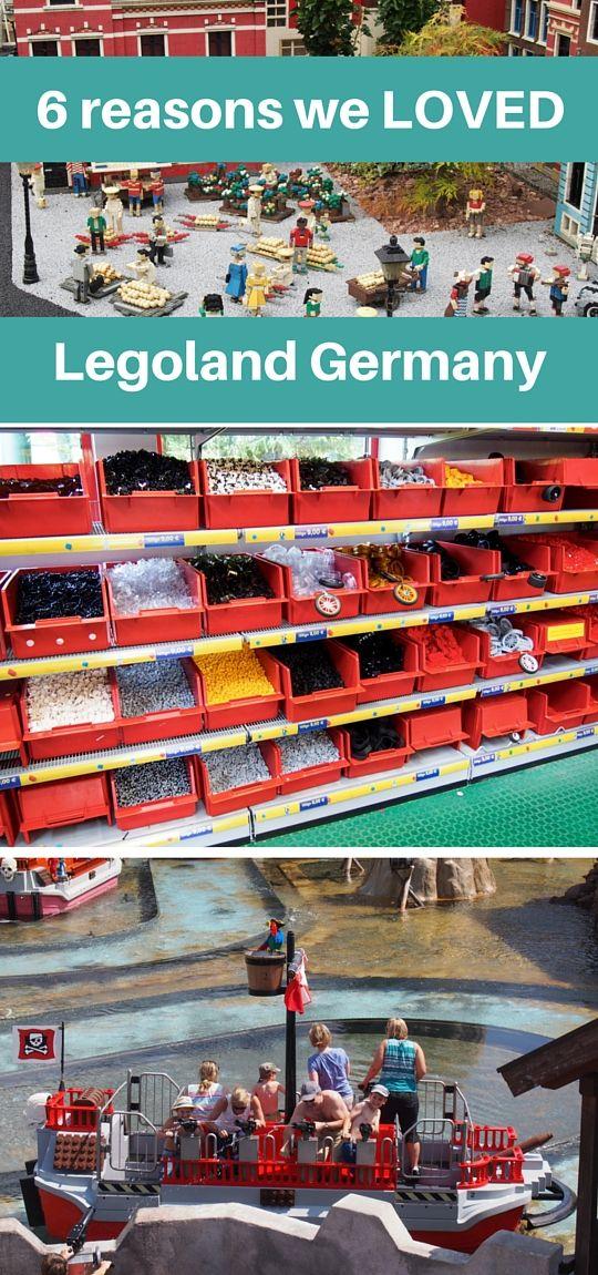 If you've got a Lego-loving child like mine, take them to Legoland in Germany immediately!