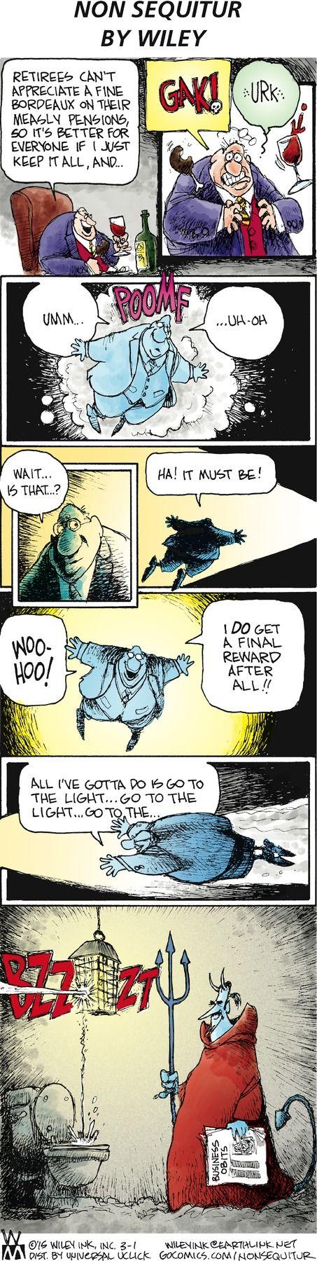 ❤ =^..^= ❤   Non Sequitur Comic Strip on GoComics.com