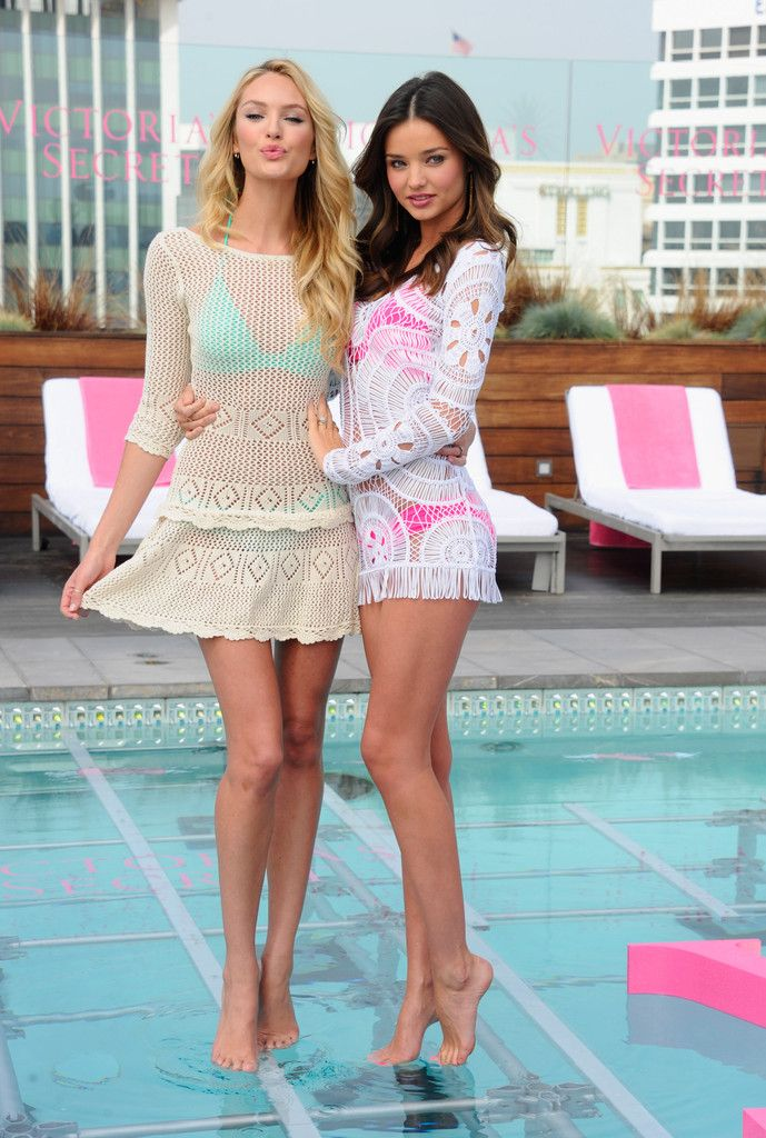 Miranda Kerr - Victoria's Secret 2012 Swim Launch With Miranda Kerr And Candice Swanepoel