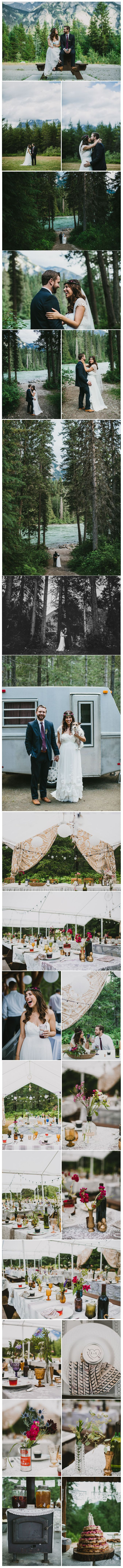 Intimate Mountain Campground Wedding: Kevin + Kathy – Part 2