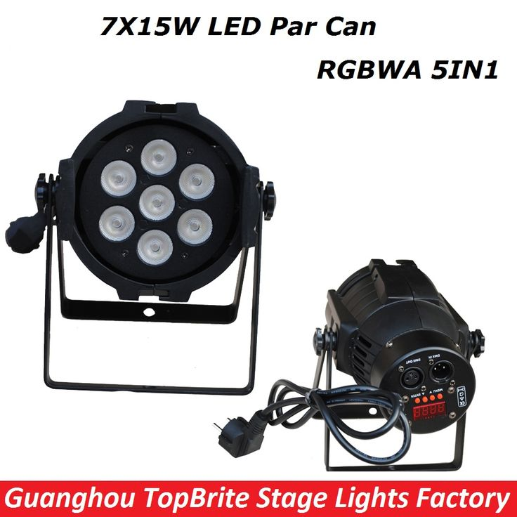 ==> [Free Shipping] Buy Best 1XLot New Led Par Light 7X15W RGBWA 5IN1 110W DJ Disco DMX Stage Lights Led Par Can Effects Club Party Wedding Events Lighting Online with LOWEST Price | 32782005618