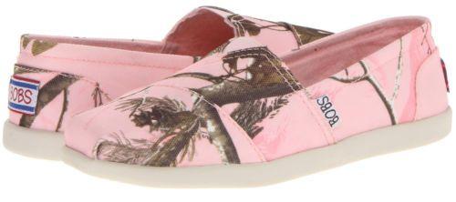 "Bobs Skechers Women's New ""Hide Seek"" Pink Camouflage 33579 Slip Ons Shoes | eBay"