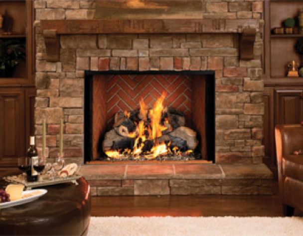 Natural Gas Fireplace Insert #2352 | Home Improvement Solutions