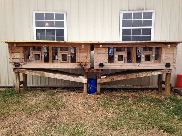 DIY - RABBIT HUTCH PLANS DIRECTIONS AND PHOTOS Little Missouri Homestead