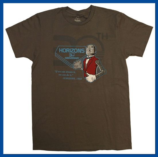 Choose Your Own Horizons 30th Anniversary Shirt on the Disney Parks Online Store from November 21-25, 2013