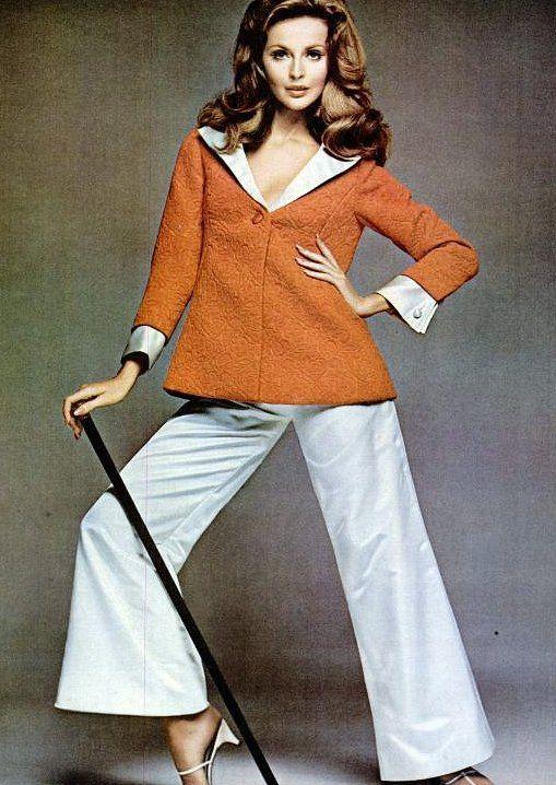 "Samantha Jones for ""Beautiful Blazers"" Revlon ad, 1967"