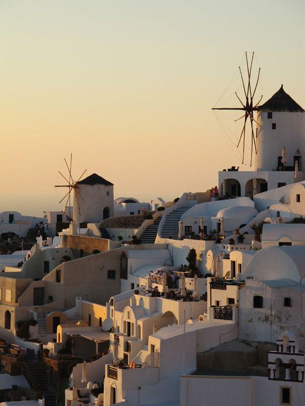 Sweet Santorini Sunset through the eyes of MilTam