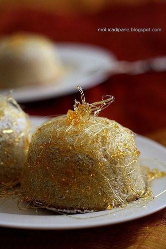 Mollica di Pane: Cassata al forno caramellata.