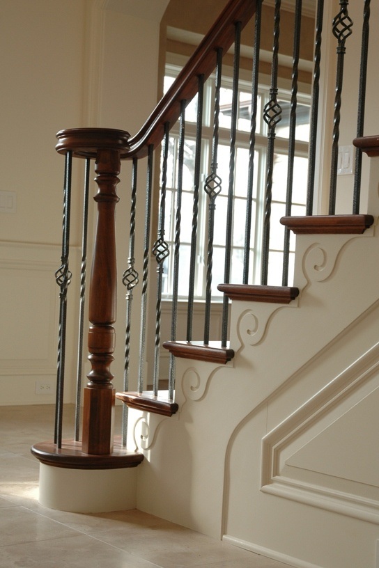 Stair Bracket Home Stairwells In 2019 Foyer Staircase
