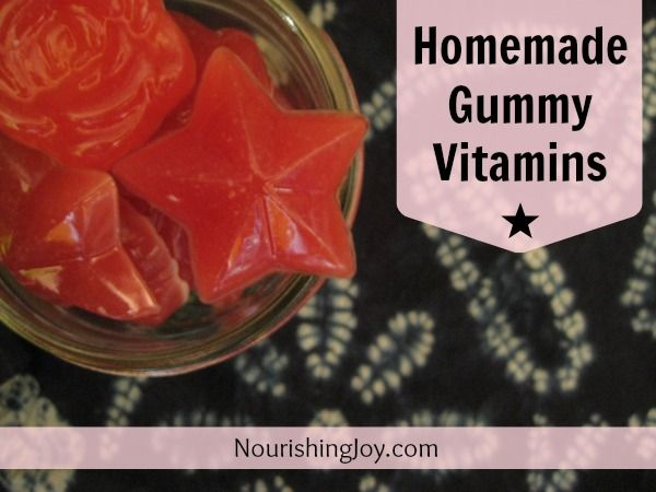 Homemade Chewable Gummy Vitamins Making your own chewable vitamins may seem like one of those things that is just too far out there to do at home. I assure you, however, it's actually one of the easiest DIY projects you could ever tackle.     Like seriously – it takes 5-10 minutes, tops. And the hardest part is scraping the thick, viscous honey off the spoon. You can do this!