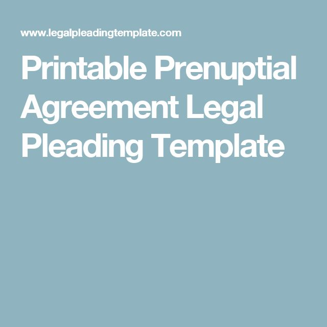 Oltre 25 fantastiche idee su Prenup agreement su Pinterest - prenuptial agreement form
