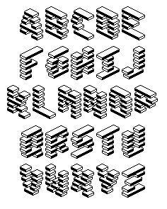 LevelRebel, Isometric Pixel Font on Behance