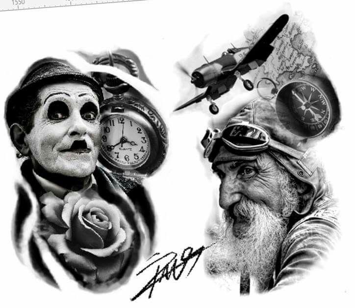 Tattoo designs. Will be done in future. Inspire