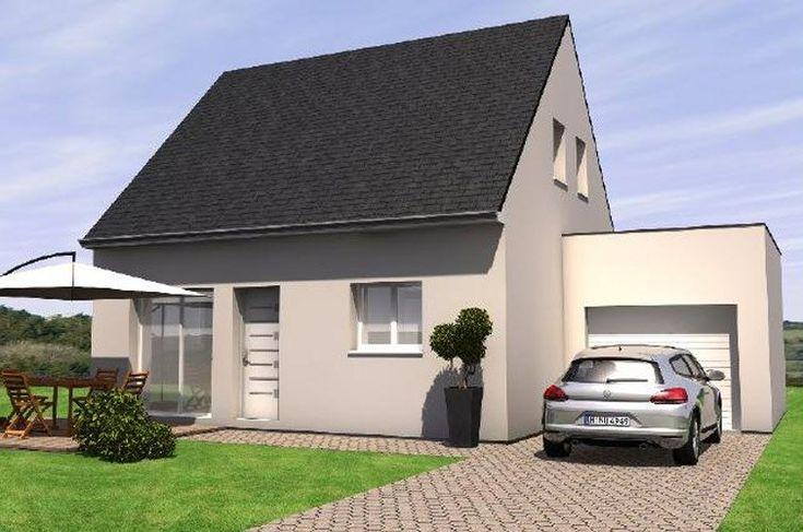 Maisons Bernard Jambert et Marc Junior, constructeurs de maisons individuelles dans le Maine-et-Loire 49. #maison #construction