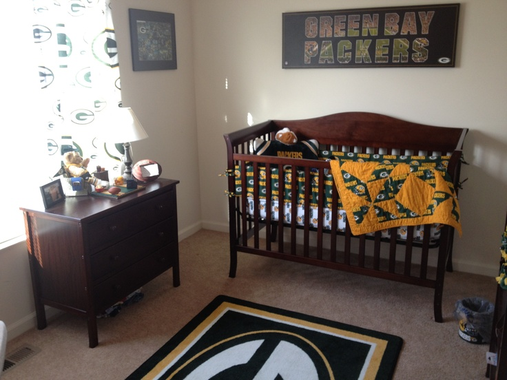 Green Bay Baby Room - this is happening.