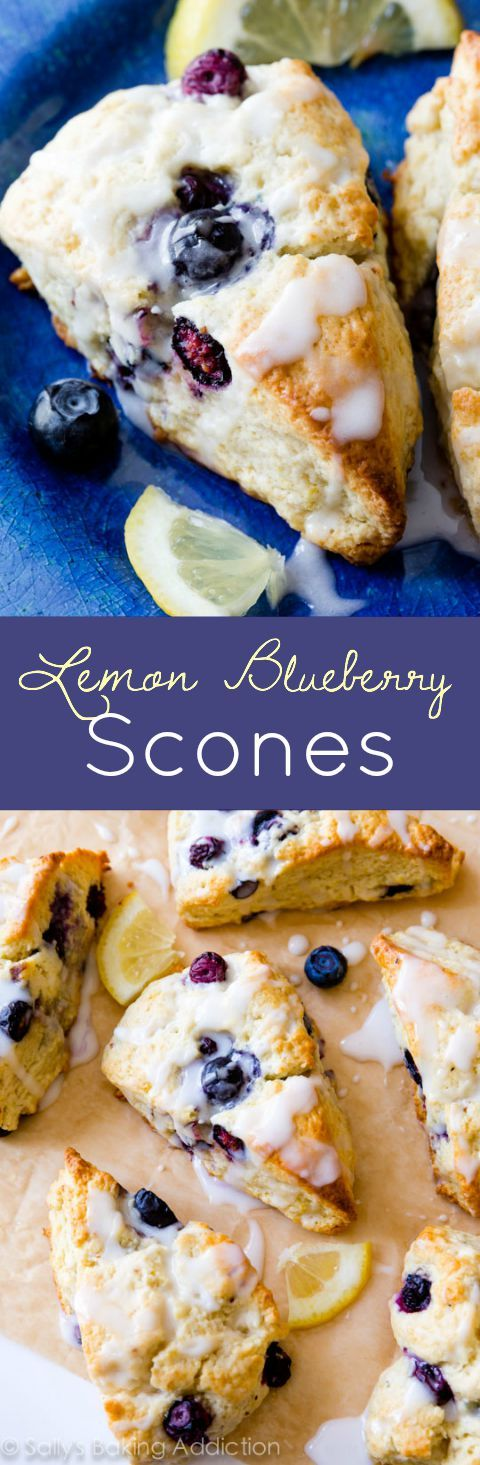 I always use this basic scone recipe-- try adding lemon glaze and blueberries!