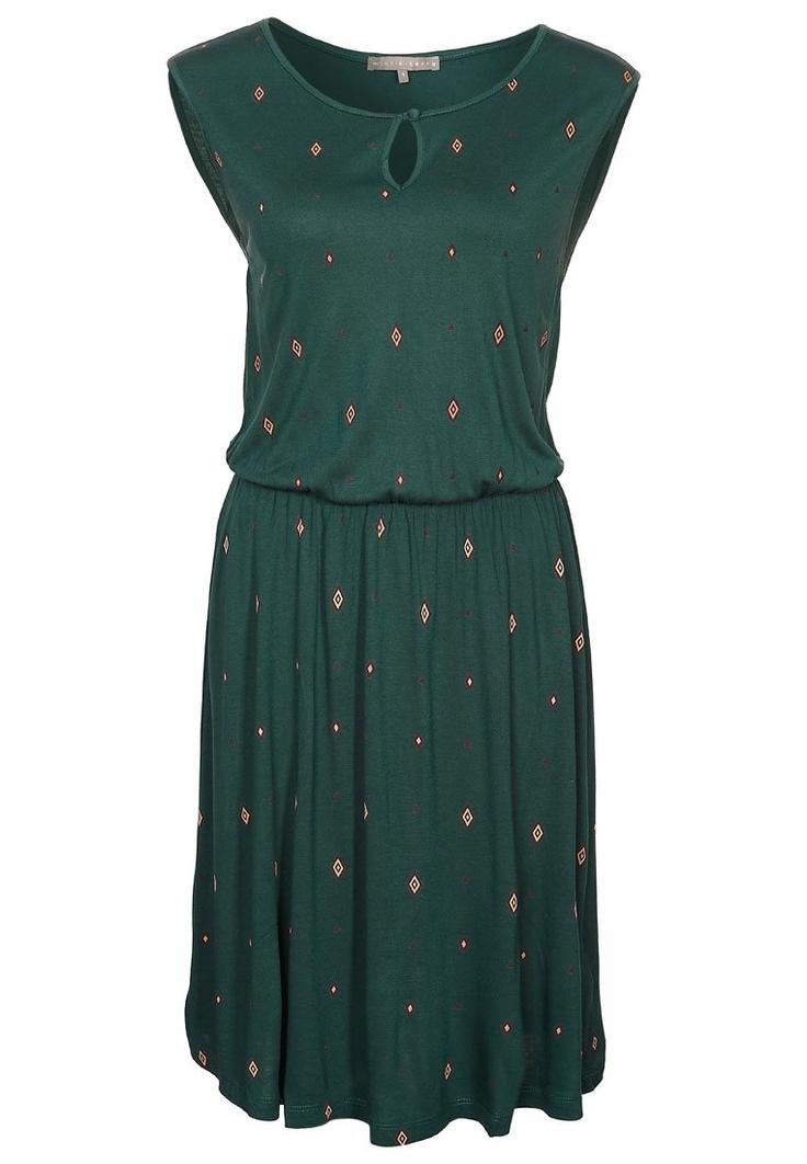 Vestido de algodón - verde