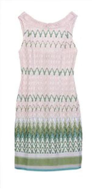 Missoni dress multi colour pastel