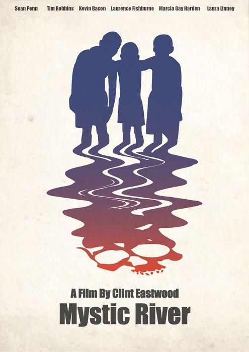 Mystic River (2003) ~ Minimal Movie Poster by Kittitath Tanyavanish