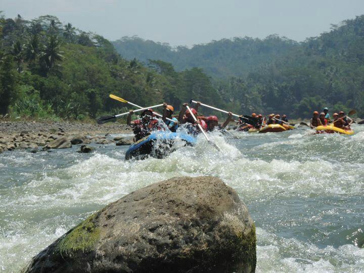 Progo Upper River Rafting