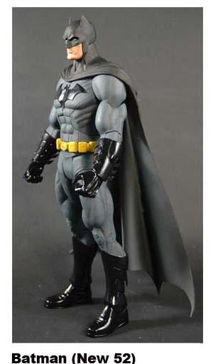 DC Universe 2012 JLA Batman Figure