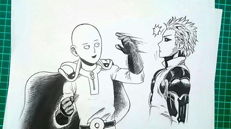 Saitama x Genos