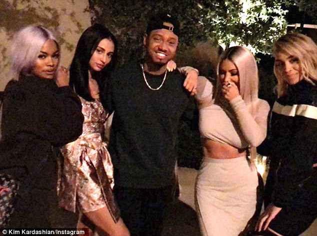 Kim Kardashian Goes Back To Blonde For Husband Kanye S Birthday Party Kim Kardashian Kardashian Kanye West Birthday