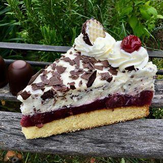 Rührkuchen vom Blech mit Mango und Heidelbeeren – Aus meinem Kuchen und Tortenblog