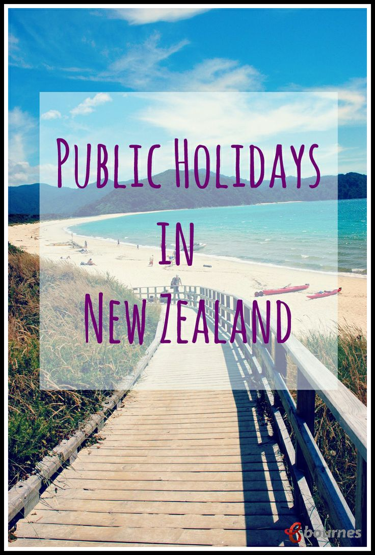 A guide to how public holidays, annual leave and school terms are assigned in New Zealand