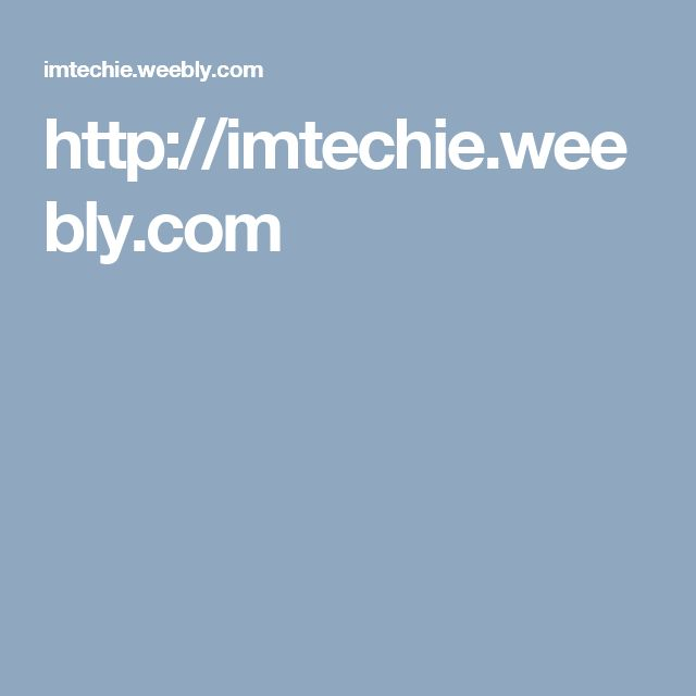 http://imtechie.weebly.com
