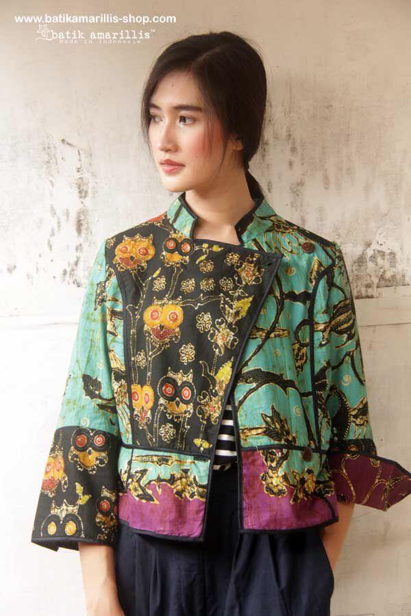 Batik Amarillis's Ryder Jacket