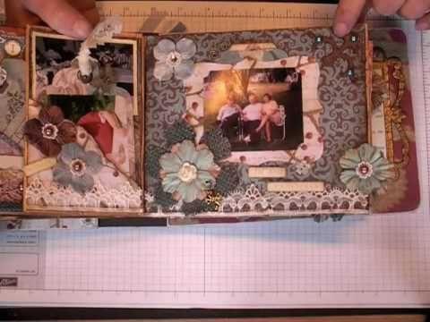 60 best Altered Paperbag Art images on Pinterest Mini albums, Mini