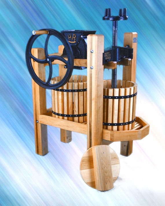 Old Fashioned Apple Cider Press
