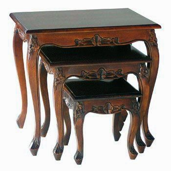 Mahogany Occasional Tables | Solid Mahogany Furniture Occasional Tables