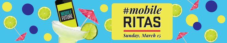 #MobileRitas @ SXSW 2015 | Sunday, March 15, 2015 | 11am-1pm | Chupacabra Cantina: 400 E. 6th St., Austin, TX 78701 | Meetup with mobile leaders, innovators, and entrepreneurs | Free with RSVP: https://www.eventbrite.com/e/mobileritas-sxsw-2015-registration-15420491104