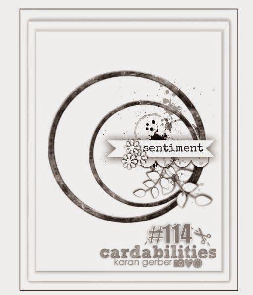 Cardabilities: Sketch #114 - Designed by Karan Gerber