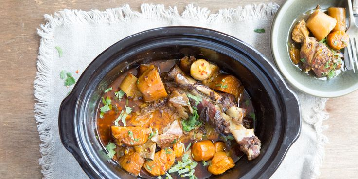 These lamb shanks from the IQS Slow Cooker Cookbook are the perfect winter-warming meal.
