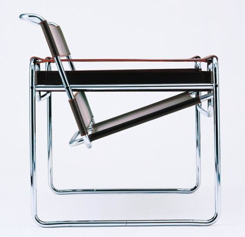#Bauhaus #MarcelBreuer #Wassily Sessel Wassily chair by Marcel Breuer…