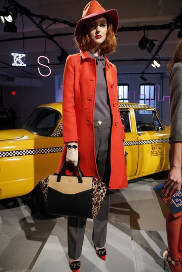 FEDORA.  That is all.  Kate Spade Runway | Fashion Week Fall 2013 Photos