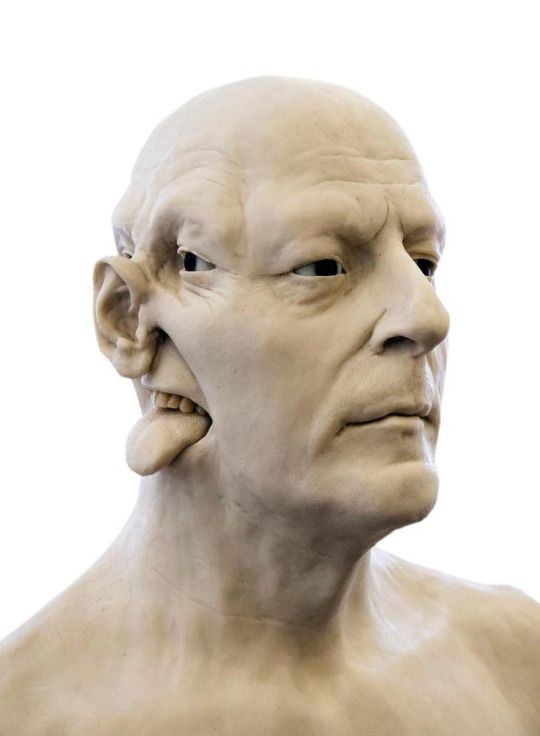 Jan Fabre, Homage to Jacques Mesrine (Bust) II, 2008