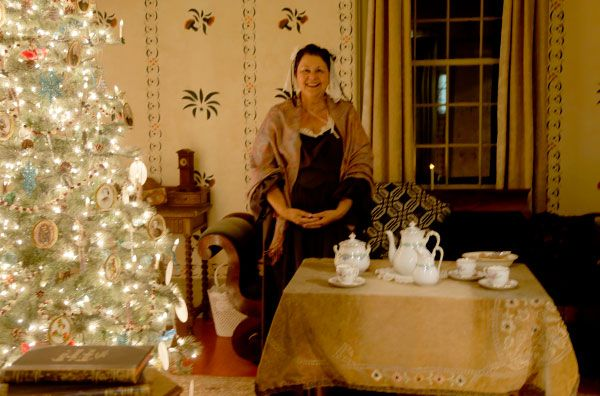 Lynde House Museum, Whitby, Christmas Tour