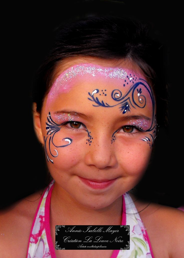 Maquillage facile pour le carnaval maquiller visage dun enfant picture maquillage de fantaisie - Maquillage simple enfant ...