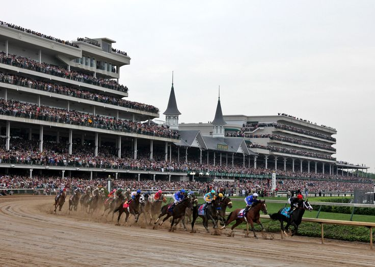 Churchill Downs in Louisville, Kentucky - home of the world famous Kentucky Derby! Visit the Dark Horse Bet website at https://www.darkhorsebet.com/ or call 1-877-478-9952 to find out more about Dark Horse Bet. #horse #betting