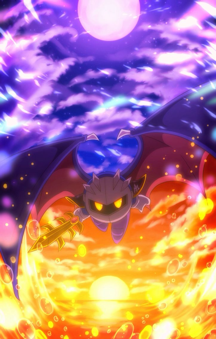 Meta Knight from the Kirby's game series