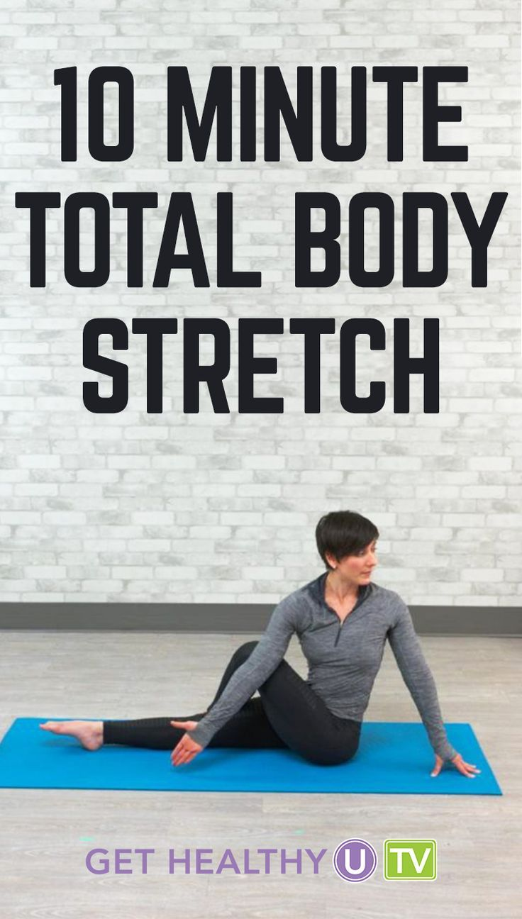 In need of a good total body stretch? Try this 10-minute routine led by  Leah Zahner. Leah will lead you through a gentle series of stretches that  will ...