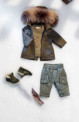 Toddler Boy Down Jacket