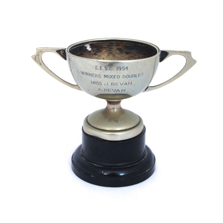1950s Silver Plated Trophy Cup, Engraved Trophy Cup, Silver Trophy, Vintage Award Cup, Sports Trophy, Antique Trophy Cup, Rustic Trophy by TwoTimeVintage on Etsy https://www.etsy.com/listing/489695130/1950s-silver-plated-trophy-cup-engraved